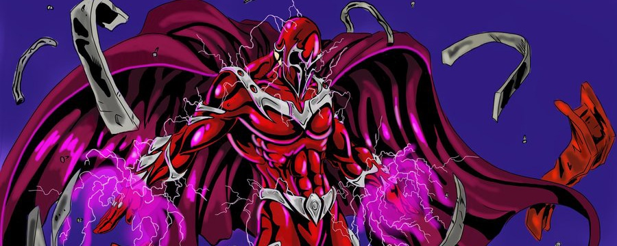 Magneto Embraces Magnetic Power