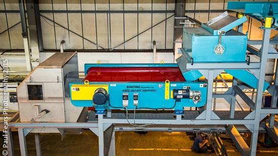 Bunting Metal Separation System Recapture Plastics