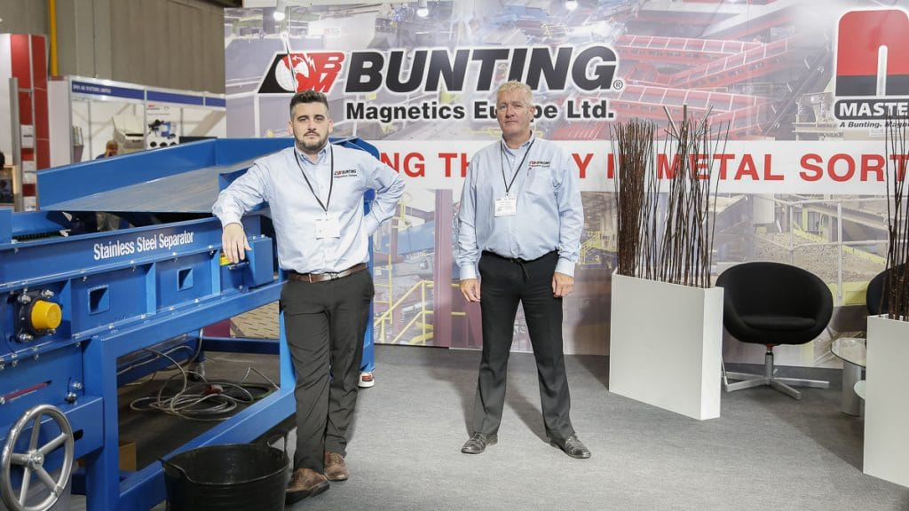 Tom Higginbottom and Mark Harris on the stand at RWM 18