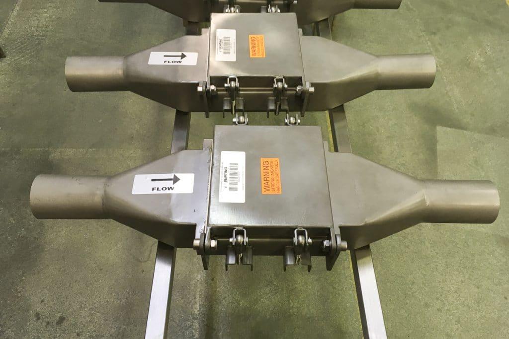 Line Magnetic Separators