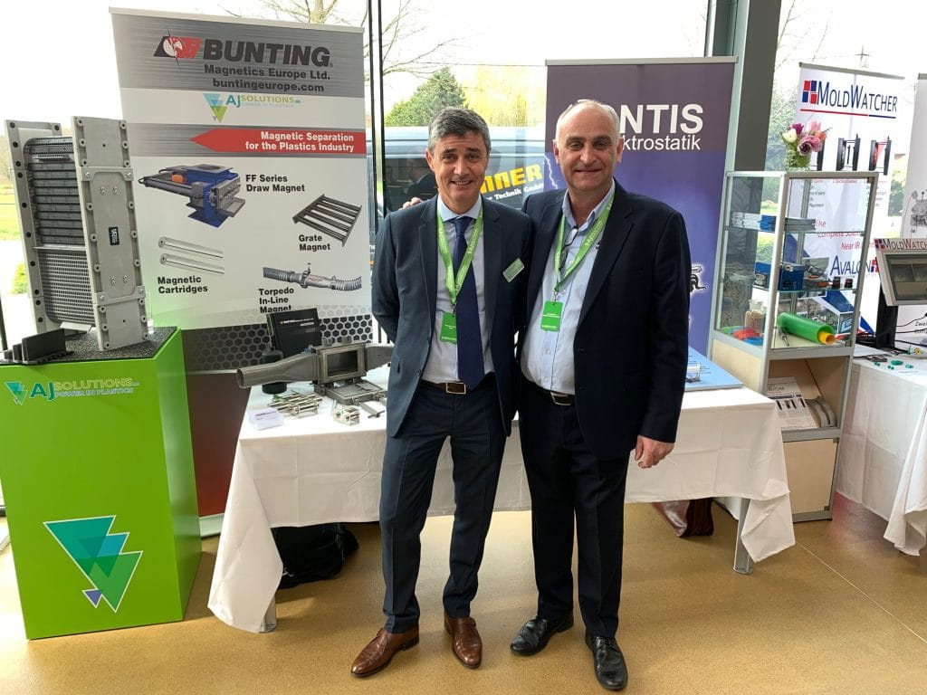 Dave Hills with Antione Bidet from BMS France