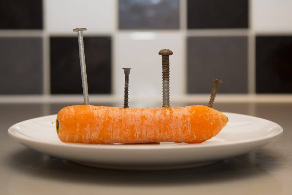 metal contamination in carrot