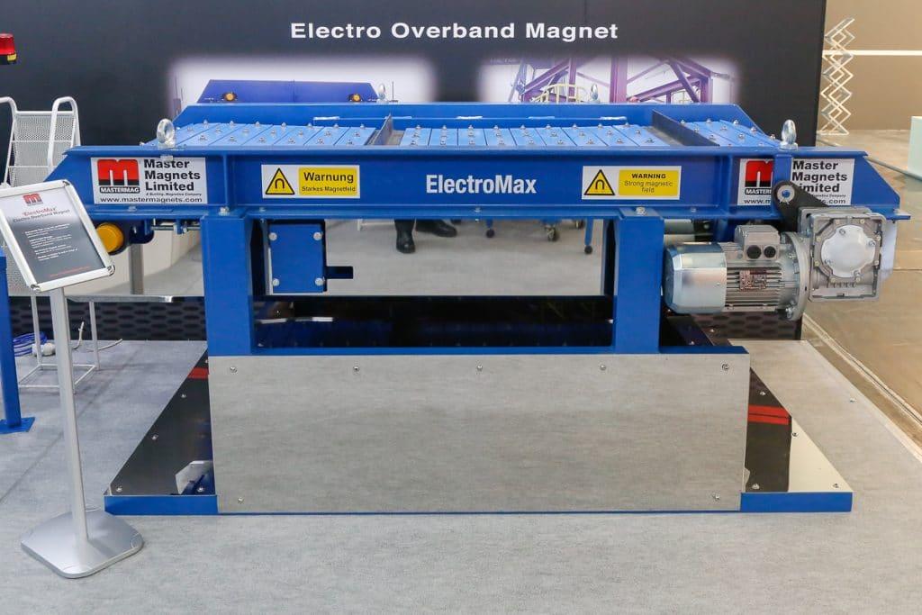 New ElectroMax Overband Magnet at Bauma 2019