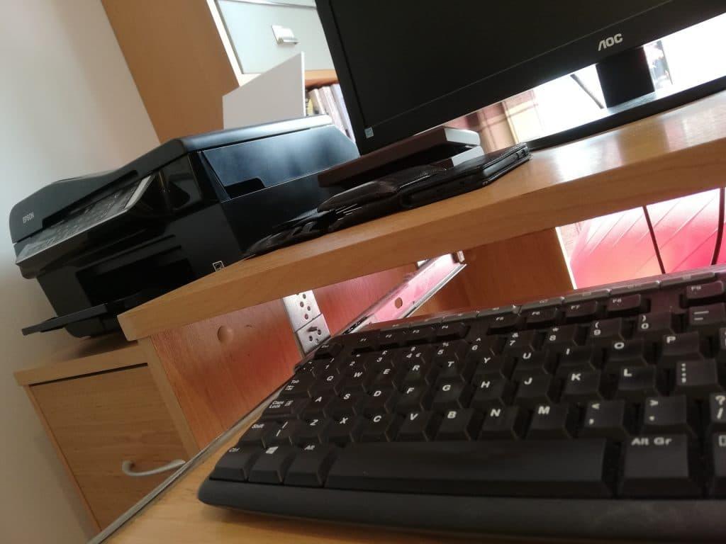 Keyboard and Printer