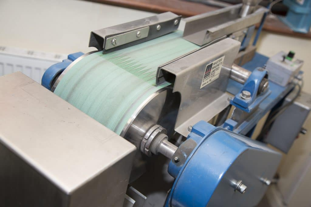 Laboratory sized Rare Earth Roll Separator Ceramics UK