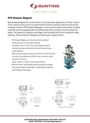 BME - FFV Drawer Filter