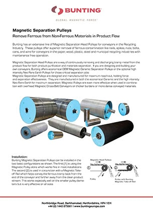 BME - Magnetic Pulleys
