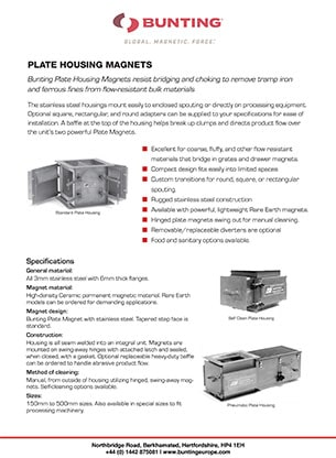 BME - Plate Housing Magnets
