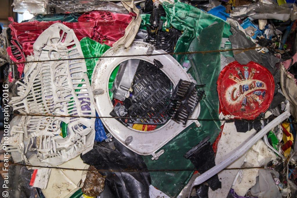Plastic Baled Waste
