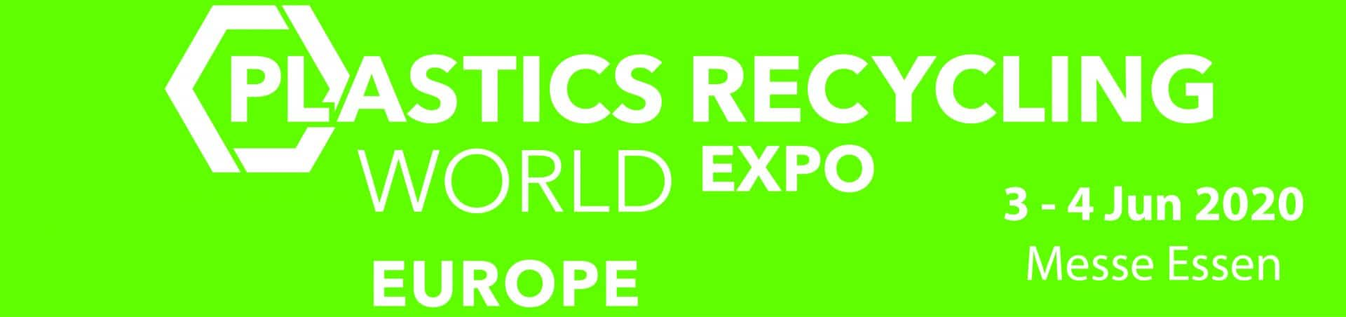 Plastics Recycling World Expo, 3 - 4 June, Essen, Germany