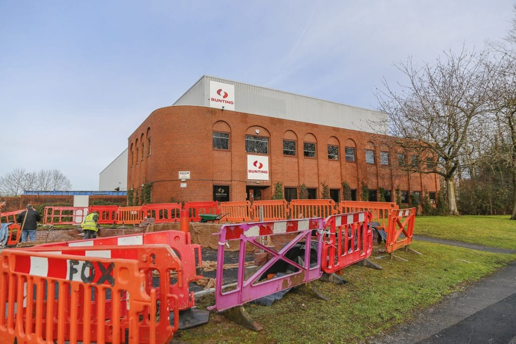 Expanding the Bunting Redditch site