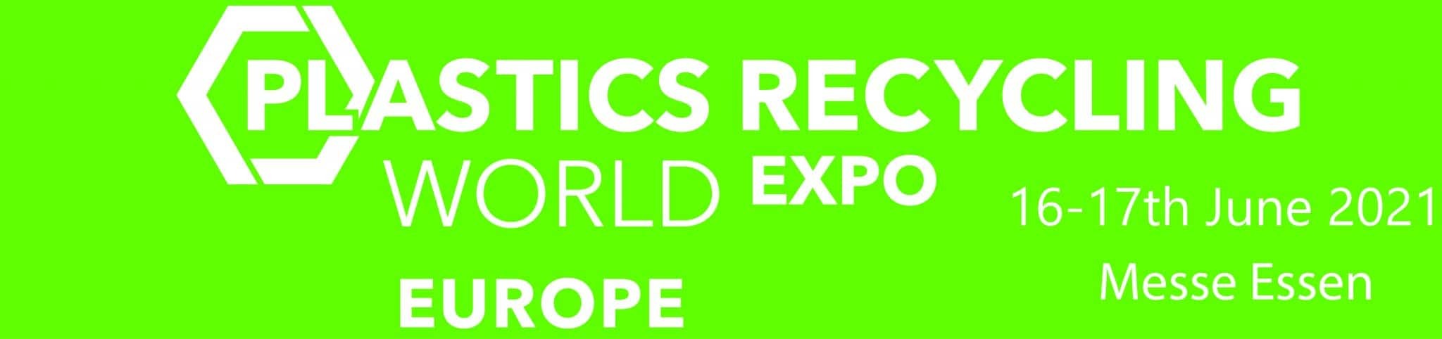 Plastics Recycling World Expo 2021, 16 - 17 June, Essen, Germany