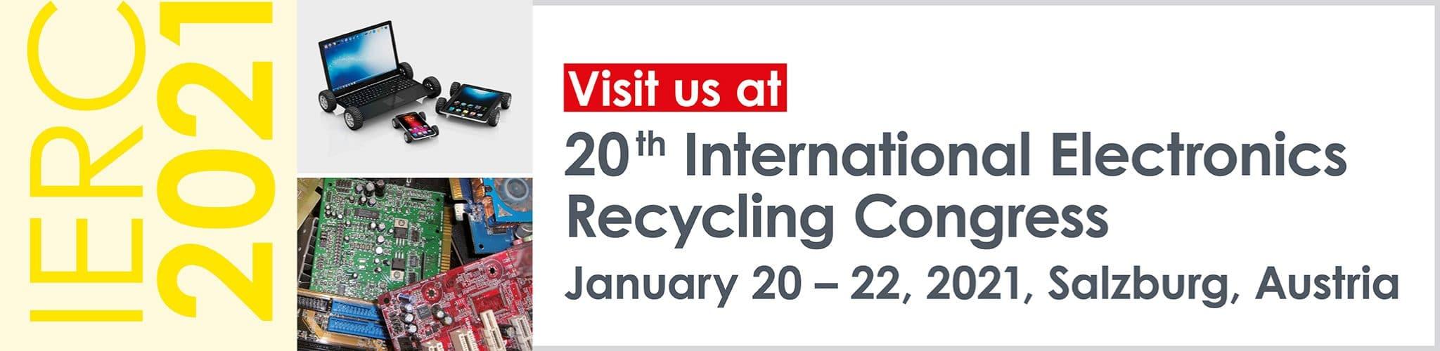 IERC 2021, 20 - 22 January, Salzburg, Austria